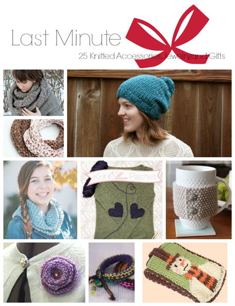 knitting accessories gifts last minute 25 knitted accessories jewelry and gifts