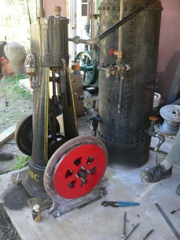 wood fired steam powered back up generator