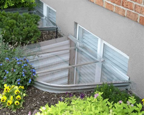 polycarbonate window well covers 93 best basement ideas images on architecture