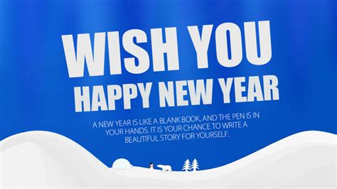 wishing u happy new year wish you happy new year a new year is like a blank book and the pen is in your