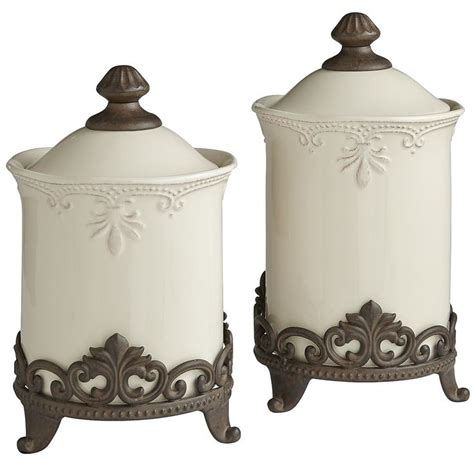 fleur de lis kitchen canisters canisters stands kitchen canisters tuscan style and