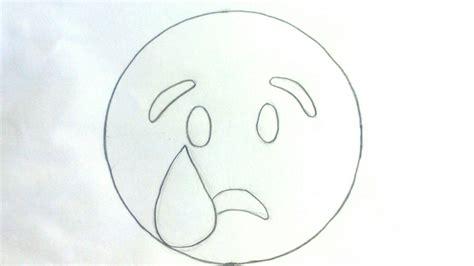 imagenes llorando para whatsapp emojis whatsapp c 243 mo dibujar un emoticon llorando paso a