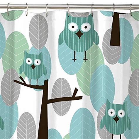fabric owl shower curtain maytex owl fabric shower curtain new ebay