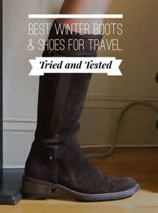 best s travel shoes boots fall winter comfort