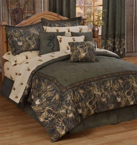 queen size camo bedding camo beds browning whitetails 8 pc comforter set queen