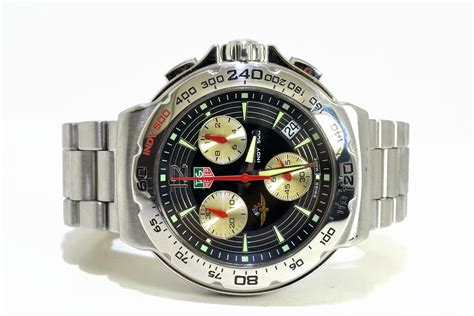 Tagheuer Indy Chronoraph For tag heuer indy 500 formula 1 cac11b 0 excellent condition