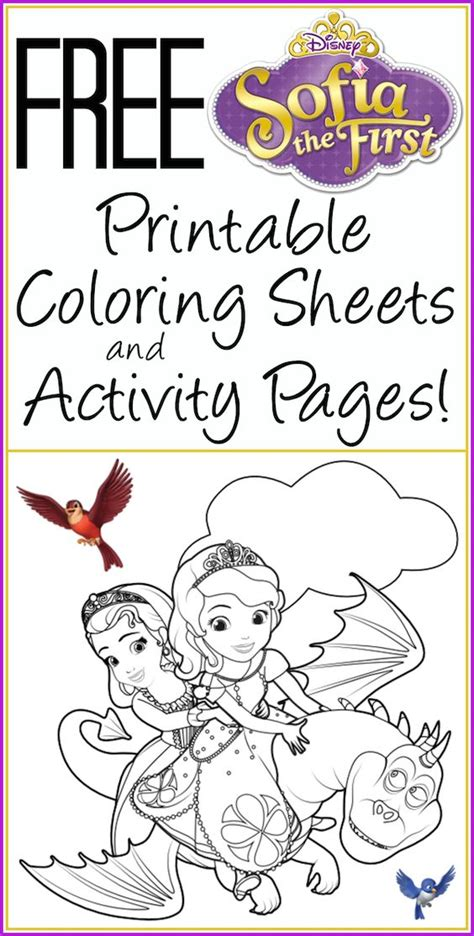 princess ivy coloring pages free printable sofia the first coloring pages activity