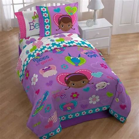 doc mcstuffins bed doc mcstuffins friends bedding