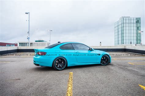 matte teal car matte teal bmw m3 vinyl car wrap car wraps in toronto