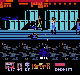 play punisher, the nintendo nes online | play retro games