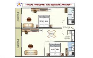 Dual Key Apartment Floor Plans Cairns Hotel Rooms And Apartment Accommodation