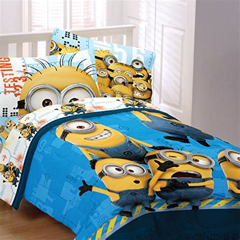 5 piece despicable me bedding set full size despicable