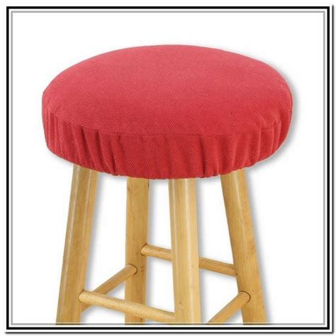 round bar stool slipcovers bar stool cushion round home design ideas