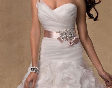 2017 stunning cheap pink wedding sashes made
