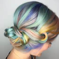 rainbow hair color pictures rainbow hair colors for holidays 2016 hairstyles 2017