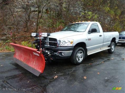snow plow for dodge ram 2500 2008 bright silver metallic dodge ram 2500 st regular cab