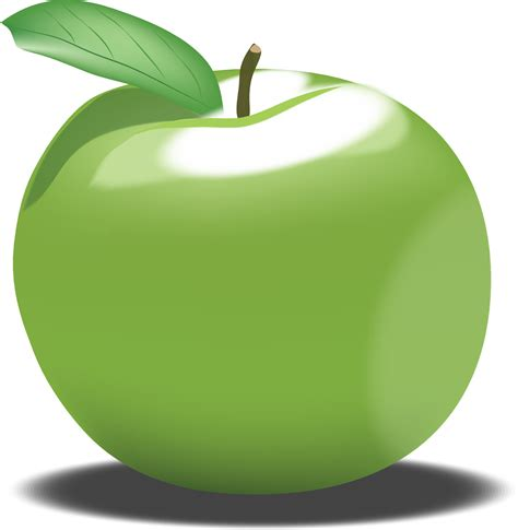 App L by Green Apple Clipart Cliparts And Others Inspiration