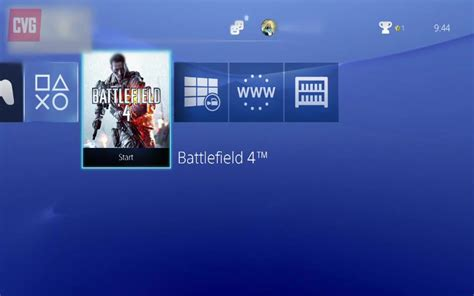 ps3 themes ps4 xmb take a look at how launching a game on playstation 4