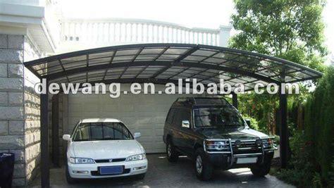 carport einseitig aluminium carport 5 4 m 5 4 m garage toit et