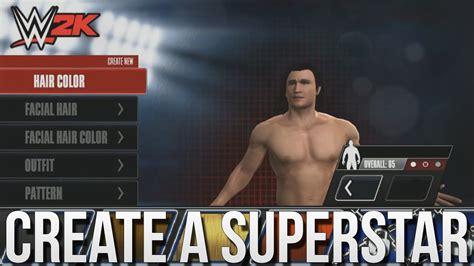 wwe 2k15 create wrestler superstar hd youtube wwe 2k mobile create a superstar wwe 2k15 for iphone
