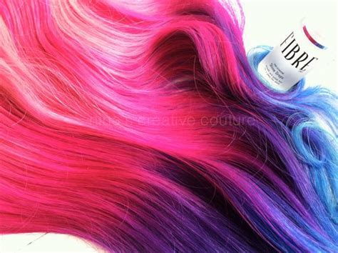 ombre hair extensions purple ombre pink by ninascreativecouture