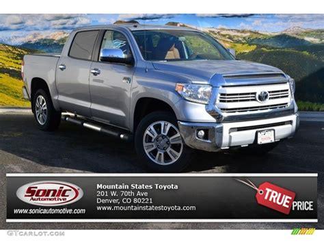 Toyota Tundra Colors 2015 Silver Sky Metallic Toyota Tundra 1794 Edition