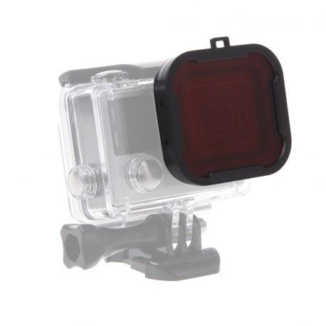 luxebell new design underwater dive red filter lens with