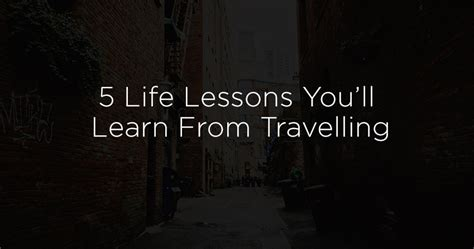 8 life lessons you ll learn from working on your car 5 life lessons you ll learn from travelling 96 3 easy rock