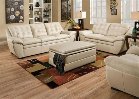 white sofa set living room modern pearl white leather tufted sofa couch loveseat