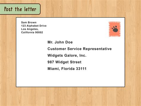 write  format  business letter wikihow