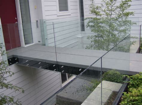 Banister Rail Brackets Hercules Fence Maryland Glass Railings Virginia Glass