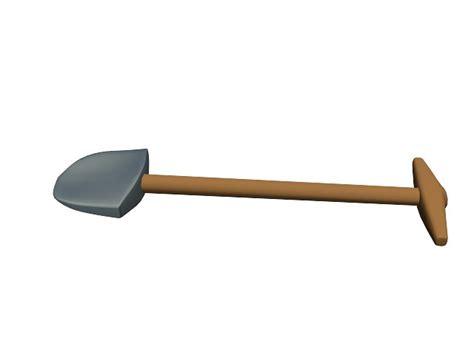 3ds Shovel shovel tool digging 3ds free