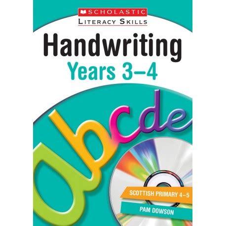libro handwriting years 3 4 workbook handwriting years 3 4 english wooks