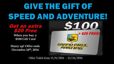 Buy Gift Cards With Gift Cards - buy gift cards grand prix karting