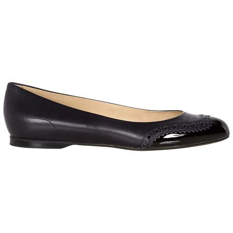 hobbs flat shoes hobbs millie shoes in black lyst