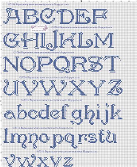 lettere alfabeto punto croce per bavaglini amorevitacrocette ancora alfabeti a punto croce