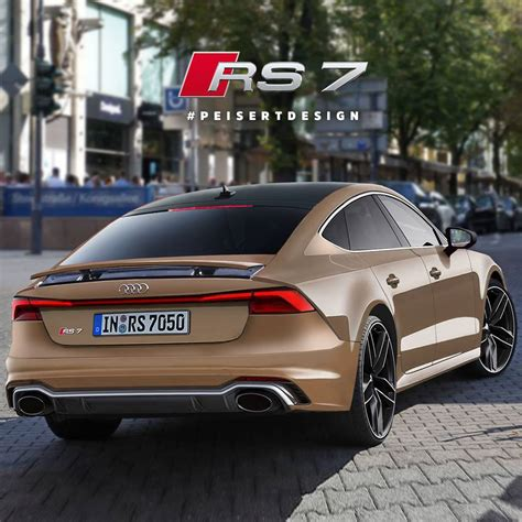 New Audi Rs7 2018 by Is This How The Next Audi Rs7 Sportback Will Look Carscoops