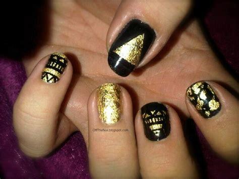 nail art gold leaf tutorial gold leaf nail art best beauty gifts pinterest