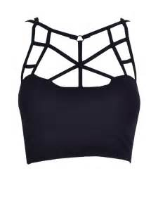 Black And Turquoise Bedding Cute Cut Out Crop Top Dream Closet Couture