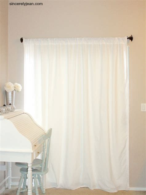 cost to make curtains diy curtains out of sheets sincerely jean