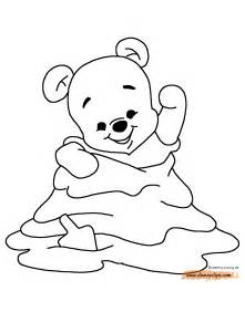 color of baby baby pooh coloring pages disney coloring book