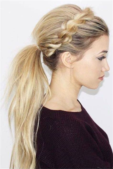 25 best ideas about ponytail hairstyles on 25 best ideas about ponytail hairstyles on