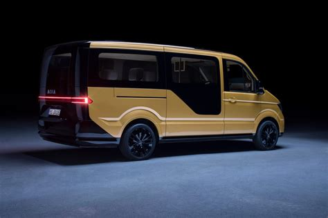 electric volkswagen van vw subsidiary moia launches ride sharing electric van