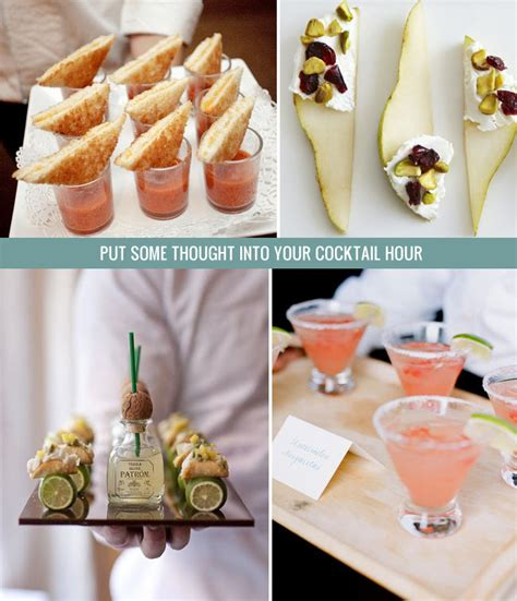 snack ideas for with cocktails six tasty tips for a foodie wedding green wedding shoes