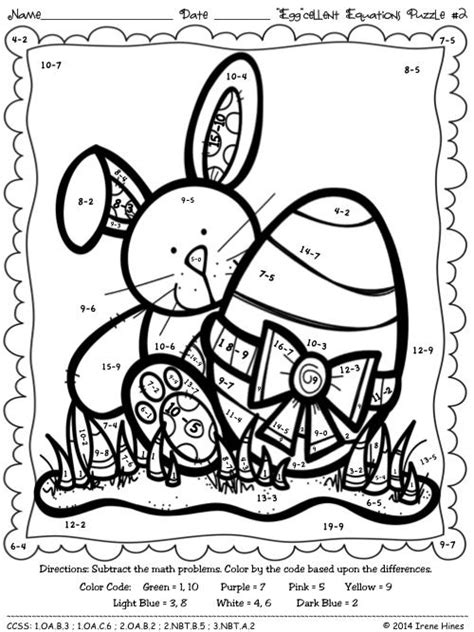 spring coloring pages math easter quot egg quot cellent equations math printables color by
