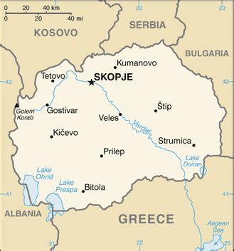 makedonien landsfakta, folkgrupper, folkmängd, bnp, karta