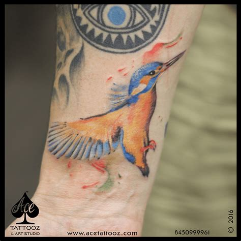 kingfisher tattoo designs kingfisher ace tattooz studio mumbai india
