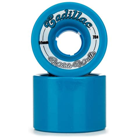 cadillac white walls cadillac white walls longboard wheels 59mm 78a