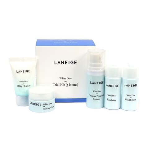 Laneige White Dew Trial Kit laneige white dew trial kit ranjaeleng