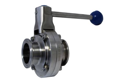 1 5 quot tri cl butterfly valves pull trigger